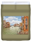 Grand Canal Apartment Duvet Cover