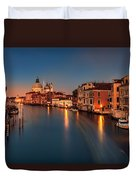 Grand Canal At Dusk Duvet Cover