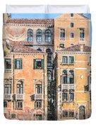 Grand Canal Gondola Duvet Cover