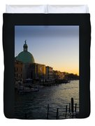 Grand Canal Venice Duvet Cover