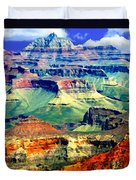 Grand Canyon After Monsoon Rains Duvet Cover