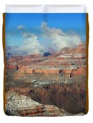 grand Canyon After the Snow Duvet Cover