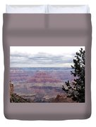 Grand Canyon Awaiting Snowstorm Duvet Cover