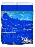 Grand Canyon Blues Duvet Cover