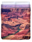 Grand Canyon Colorado Canyon Duvet Cover