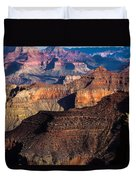 Grand Canyon Colors Duvet Cover