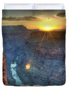 Grand Canyon First Light Duvet Cover
