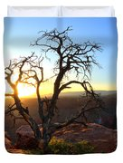Grand Canyon Gathering The Light Duvet Cover