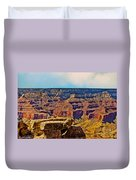 Grand Canyon Mather Viewpoint Duvet Cover