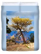 Grand Canyon National Park And Tree Duvet Cover