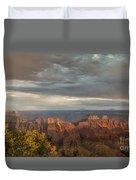 Grand Canyon North Rim Sunset Duvet Cover