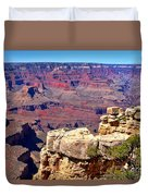 Grand Canyon Of Red By Diana Sainz Duvet Cover