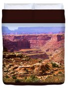 Grand Canyon Of Utah Duvet Cover by Adam Jewell