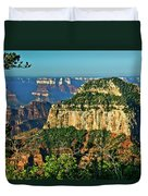 Grand Canyon Peak Angel Point Duvet Cover