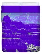 Grand Canyon Purples Duvet Cover