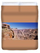 Grand Canyon Skywalk, Eagle Point, West Duvet Cover