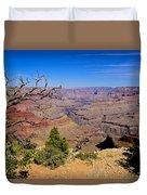 Grand Canyon South Rim Trail Duvet Cover