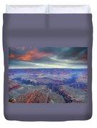 Grand Canyon Storm Set Duvet Cover