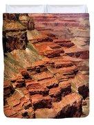 Grand Canyon Valley Depths Duvet Cover