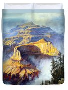 Grand Canyon View Duvet Cover by Lee Piper
