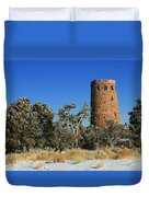 Grand Canyon Watch Tower Duvet Cover