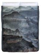 Grand Canyon Watercolor Duvet Cover