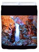 Grand Canyon Waterfall Duvet Cover