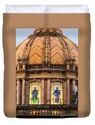 Grand Cathedral Of Guadalajara Duvet Cover