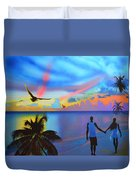 Grand Cayman Islanders Duvet Cover