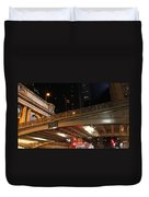 Grand Central Station At Pershing Square Duvet Cover