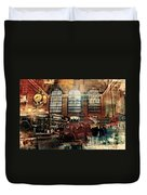 Grand Central Terminal 100 Years Duvet Cover by Diana Angstadt