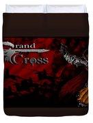 Grand Cross Poster Art Duvet Cover