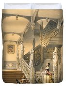 Grand Elizabethan Staircase Duvet Cover