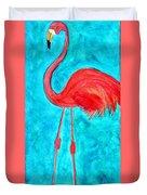 Grand Flamingo Duvet Cover