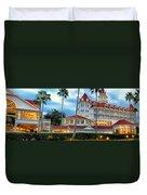 Grand Floridian Resort Walt Disney World Duvet Cover