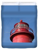 Grand Haven Red Duvet Cover