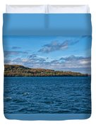 Grand Island Lake Superior Duvet Cover