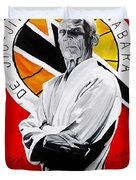 Grand Master Helio Gracie Duvet Cover