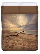 Grand Mere Sunset - Driftwood Duvet Cover