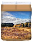 Grand Mesa Colors Duvet Cover
