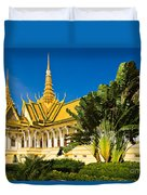 Grand Palace - Cambodia Duvet Cover
