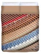 Grand Piano Strings Duvet Cover