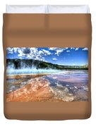 Grand Prismatic Spring - Yellowstone Duvet Cover