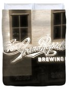 Grand Rapids Brewing Co Duvet Cover