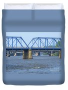 Grand Rapids Crossings Duvet Cover