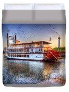 Grand Romance Riverboat Duvet Cover