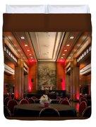 Grand Salon 01 Queen Mary Ocean Liner Duvet Cover