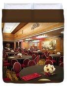 Grand Salon 03 Queen Mary Ocean Liner Duvet Cover