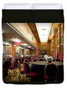 Grand Salon 05 Queen Mary Ocean Liner Duvet Cover