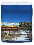 Grand Staircase-escalante National Monument Duvet Cover